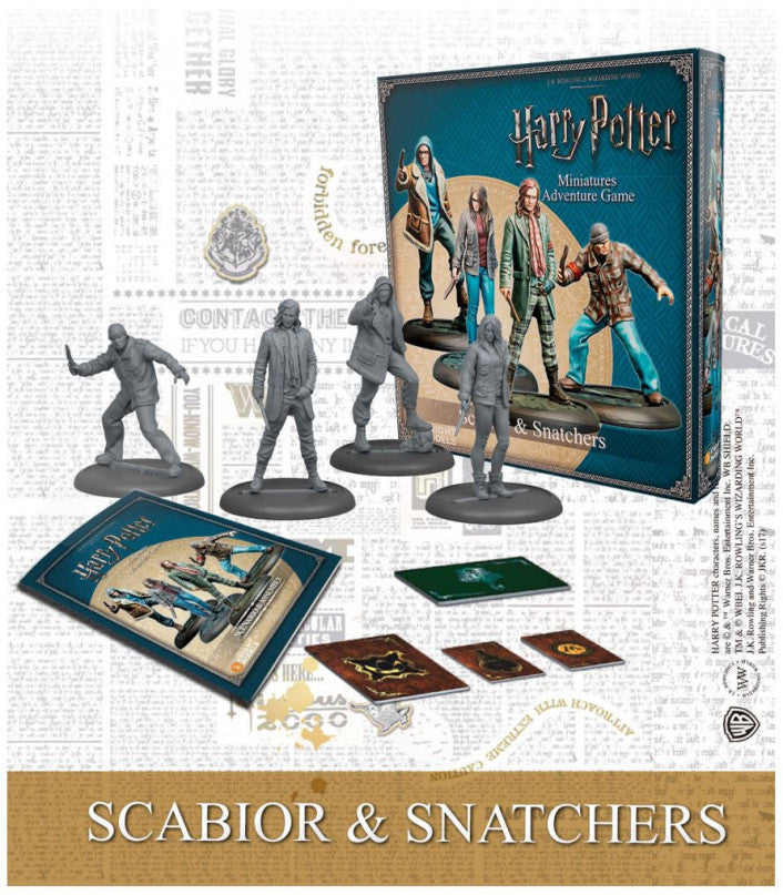 Harry Potter Miniatures Adventure Game Scabior & Snatchers