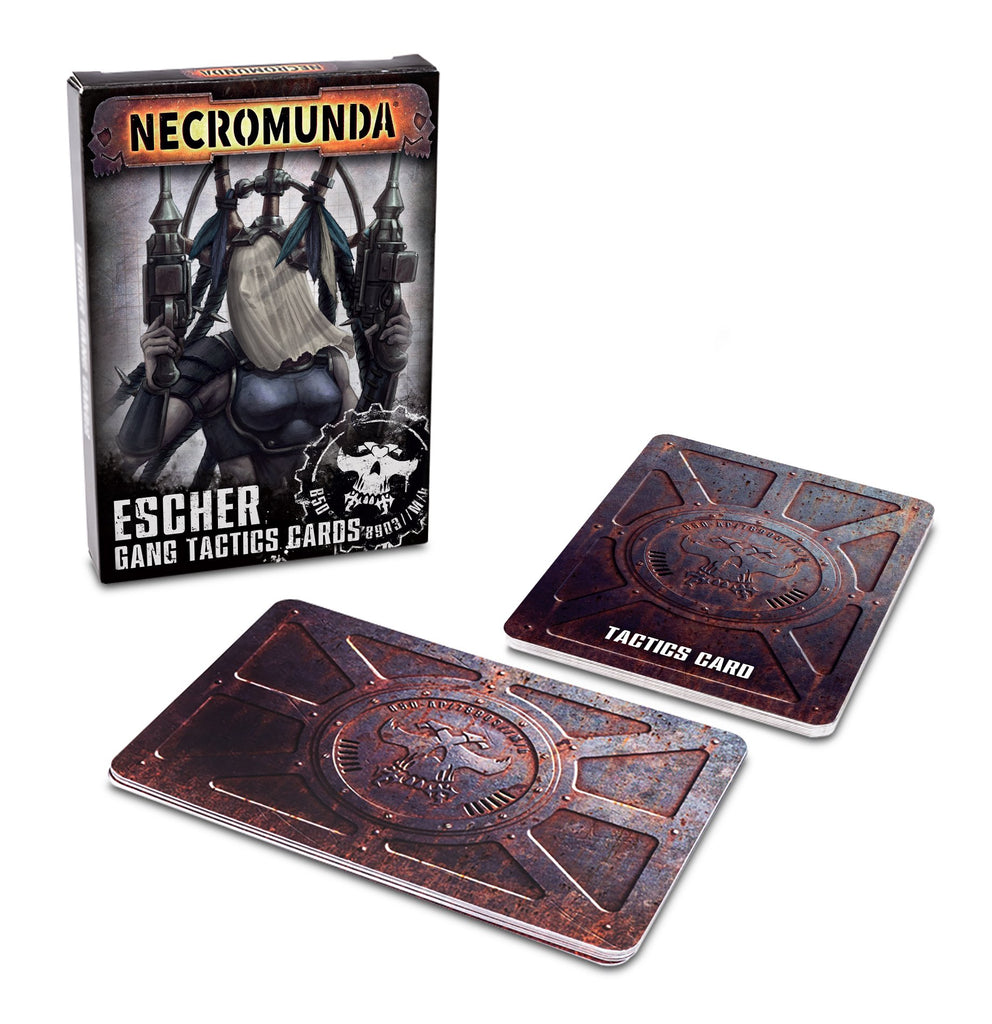 Necromunda: Escher Gang Tactics Cards