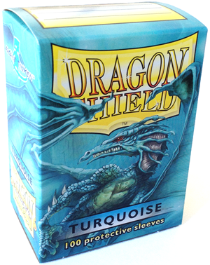 Sleeves - Dragon Shield - Box 100 - Turquoise