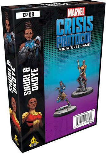 Marvel Crisis Protocol Okoye and Shuri Character Pack