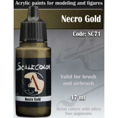 Scalecolor SC 71 Metal Necro Gold