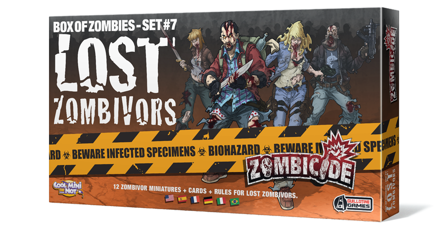 Zombicide Box of Zombies 2 Lost Zombivors