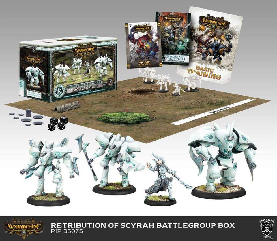 PIP35075 Retribution Battlegroup Starter Box (Mk III)