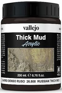 26.808 Vallejo Diorama Effects Russian Thick Mud 200ml