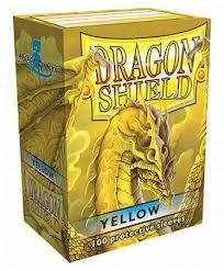Sleeves - Dragon Shield - Box 100 - Yellow