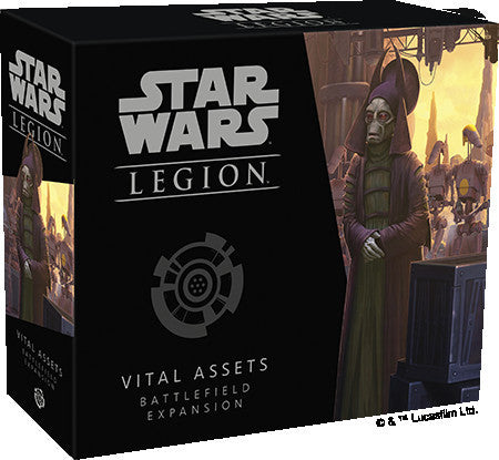 Star Wars Legion Vital Assets Battlefield Expansion