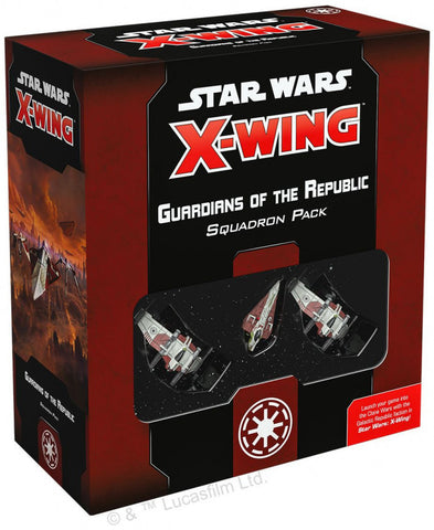 Star Wars X-Wing 2nd Edition Guardians of the Republic Squadron Pack