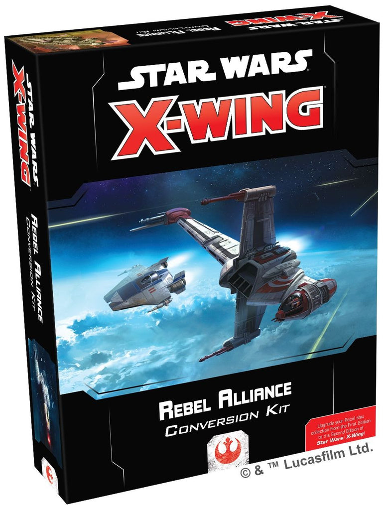 Star Wars X-Wing Miniatures Game - Rebel Alliance Conversion Kit 2nd Edition
