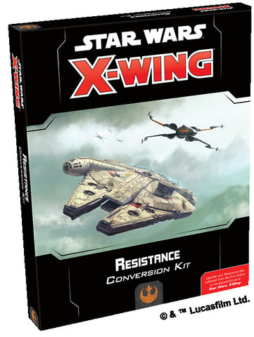 Star Wars X-Wing Miniatures Game - Resistance Conversion Kit 2nd Edition