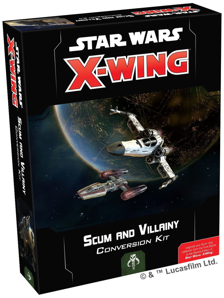 Star Wars X-Wing Miniatures Game - Scum and Vilainy Conversion Kit 2nd Edition