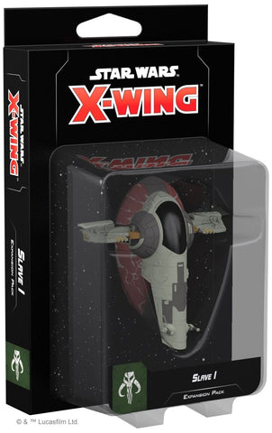 Star Wars X-Wing Slave 1 Expansion Pack 2nd Edition