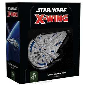 Star Wars X Wing Lando's Millennium Falcon 2nd Edition