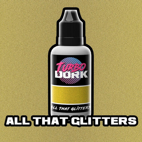 Turbo Dork All That Glitters Metallic Flourish Acrylic Paint 20ml Bottle