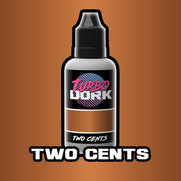 Turbo Dork Two Cents Metallic Acrylic Paint 20ml Bottle