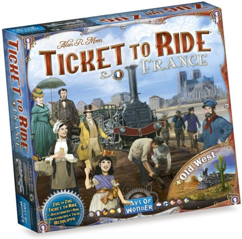 Ticket to Ride Map Collection Volume 6 – France & Old West