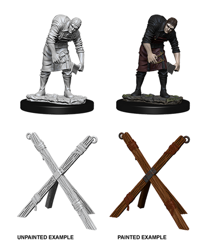 WizKids Deep Cuts Miniatures Assistant & Torture Cross