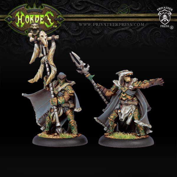 PIP72030	Wolves of Orboros Chieftain & Standard
