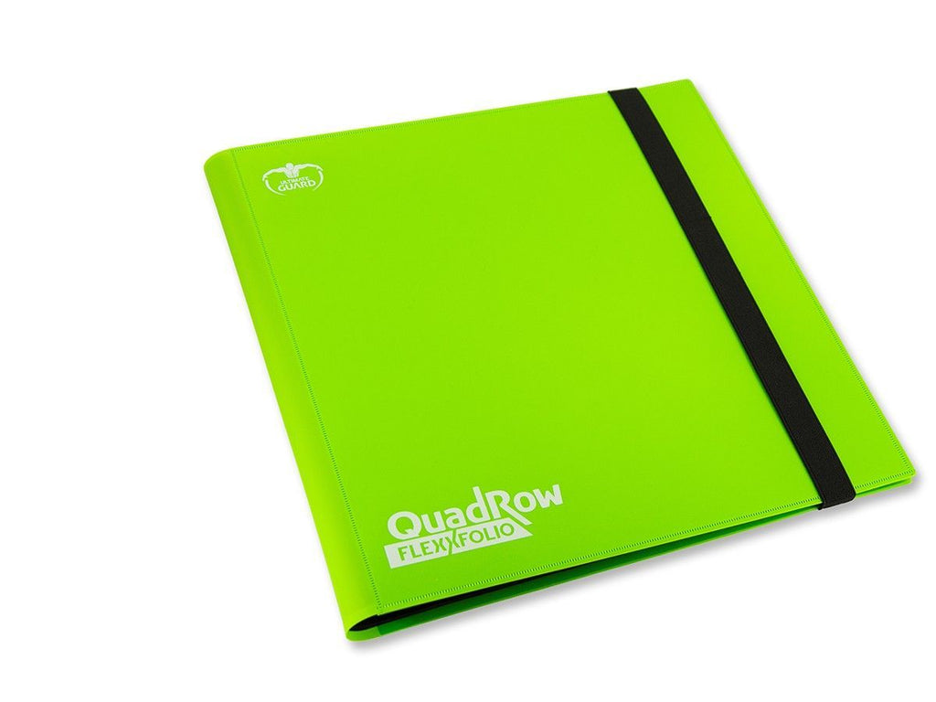 Ultimate Guard 12-Pocket QuadRow FlexXfolio Light Green Folder