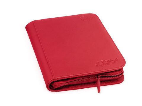 Folder Ultimate Guard 4-Pocket ZipFolio XenoSkin Red