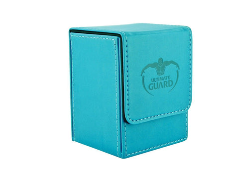 Copy of Ultimate Guard Flip Deck Case 100+ Standard Size Leatherette Blue Deck Box