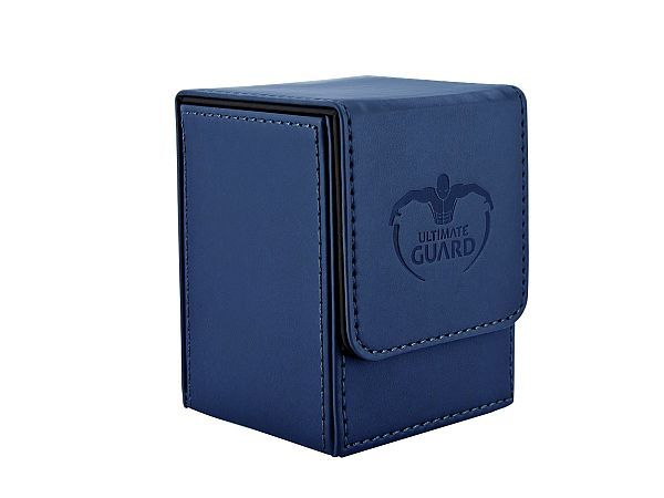Ultimate Guard Flip Deck Case 100+ Standard Size Dark Blue Deck Box
