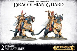 Dracothian Guard Fulminators / Lord-Celestant on Dracoth / Dracothian Guard Desolators / Dracothian Guard Tempestors / Dracothian Guard Concussors