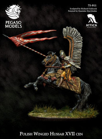 Polish Winged Hussar XVII cen