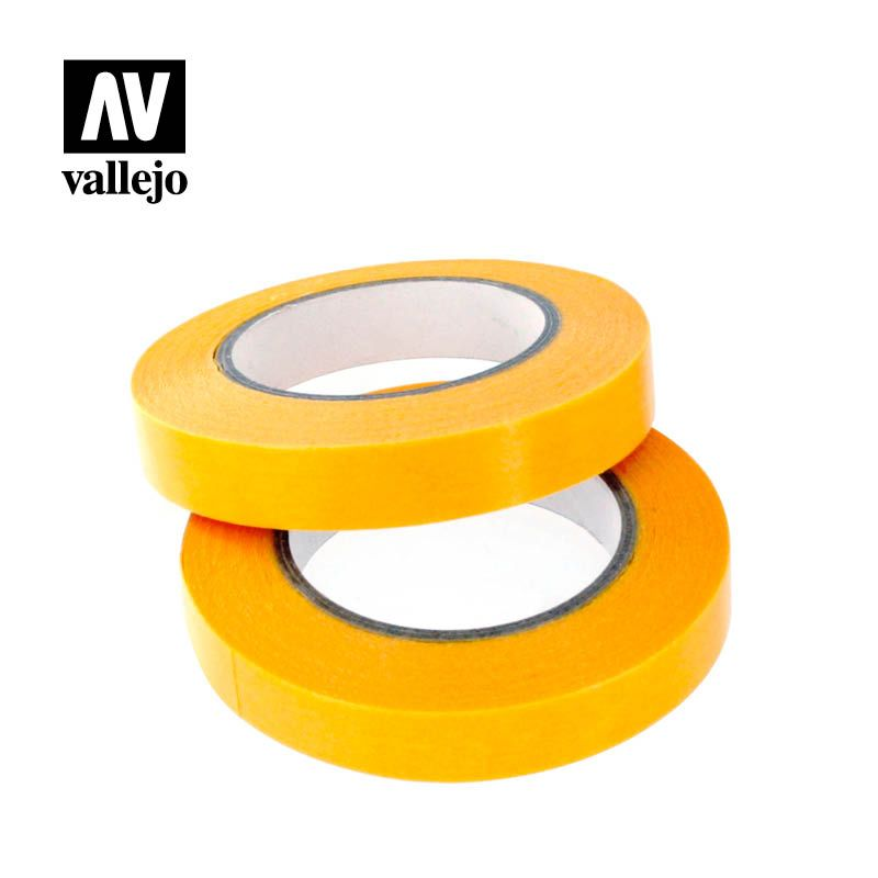 Vallejo Tools Precision Masking Tape 2mmx18m - Twin Pack