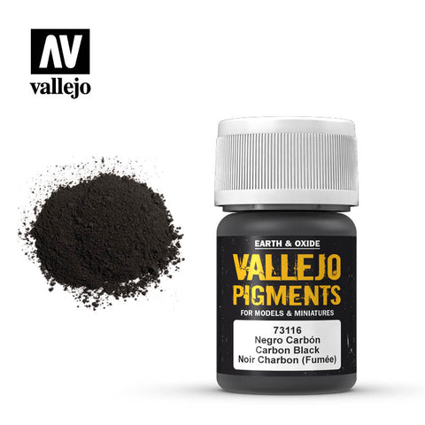 73.116 Vallejo Pigments Carbon Black (Smoke Black)