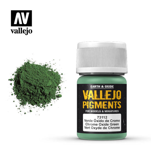 73.112 Vallejo Pigments Chrome Oxide Green