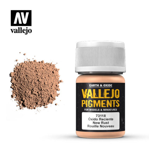 73.118 Vallejo Pigments New Rust