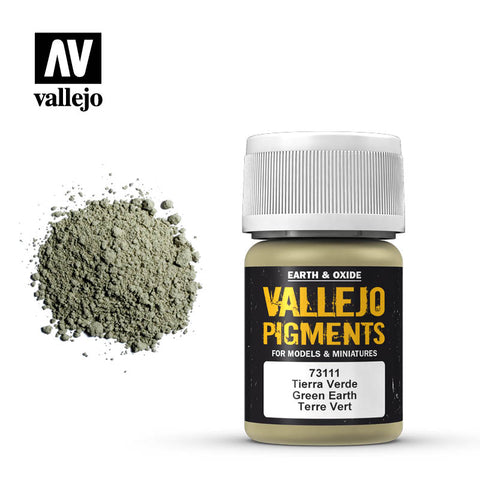 73.111 Vallejo Pigments Green Earth