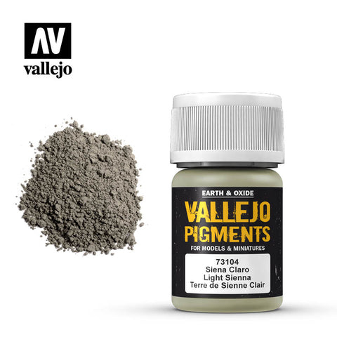 73.104 Vallejo Pigments Light Sienna