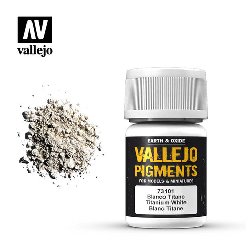 73.101 Vallejo Pigments Titanium White
