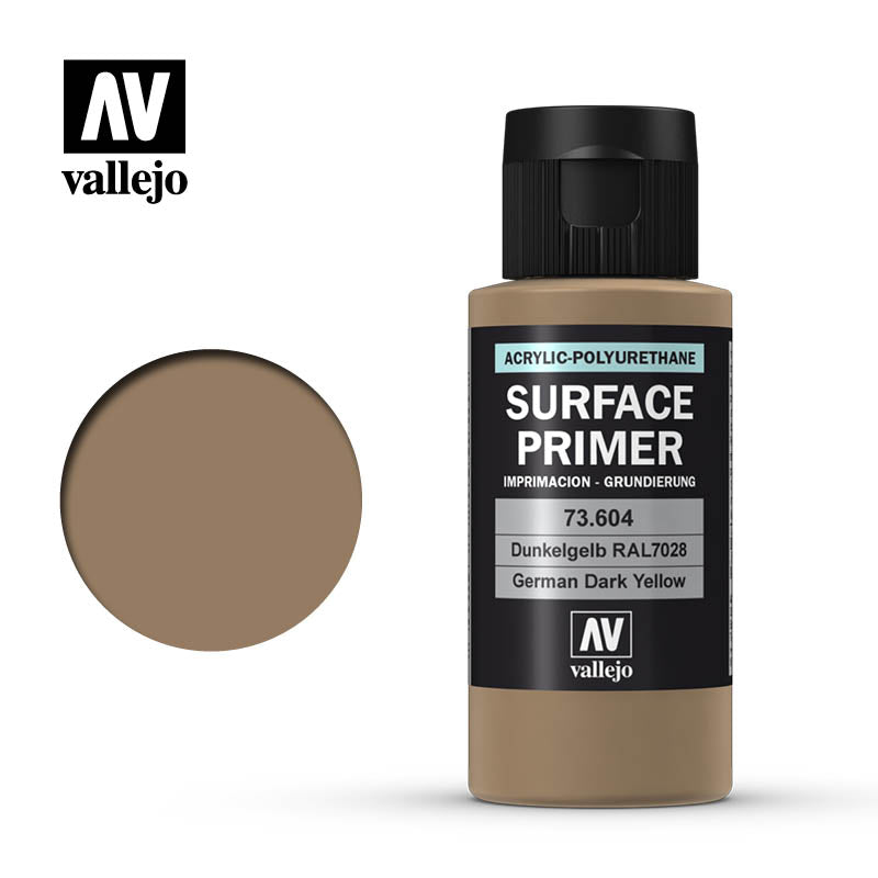 73.604 Vallejo Auxiliary Surface Primer German Dark Yellow (60ml)