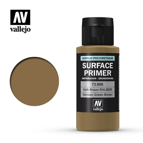 73.606 Vallejo Auxiliary Surface Primer German Green Brown (60ml)