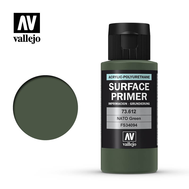 73.612 Vallejo Auxiliary Surface Primer NATO Green (60ml)