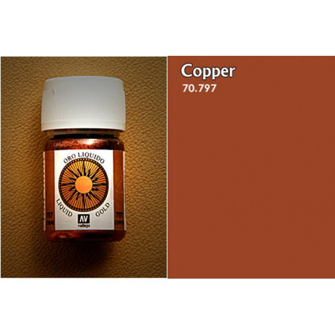 70.797 Vallejo Liquid Metallics: Copper