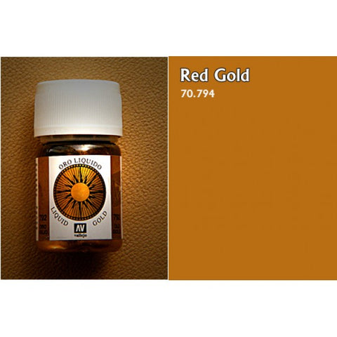 70.794 Vallejo Liquid Metallics: Red Gold