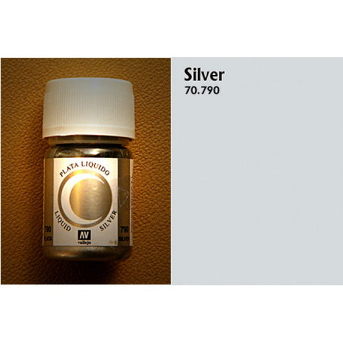70.790 Vallejo Liquid Metallics: Silver