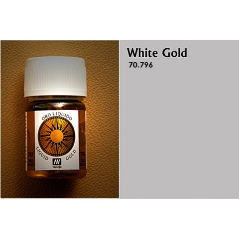 70.796 Vallejo Liquid Metallics: White Gold