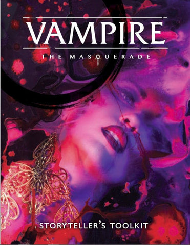 Vampire the Masquerade Storyteller Screen 5th Edition
