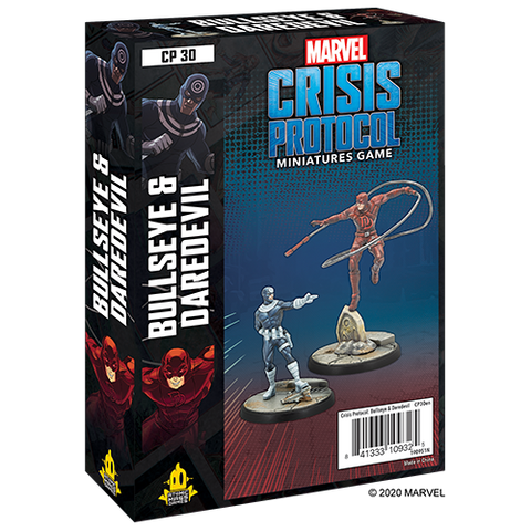 Marvel Crisis Protocol Miniatures Game Bullseye and Daredevil