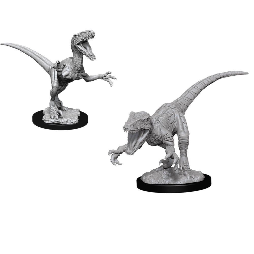 WizKids Deep Cuts Unpainted Miniatures Raptors