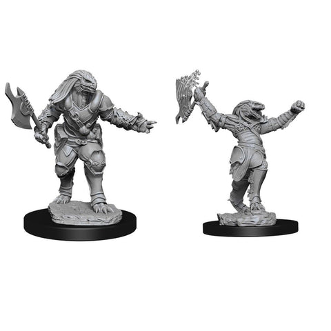 D&D Nolzurs Marvelous Unpainted Miniatures Female Dragonborn Fighter