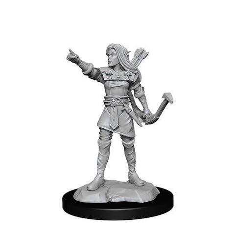 D&D Nolzurs Marvelous Unpainted Miniatures Elf Ranger Female