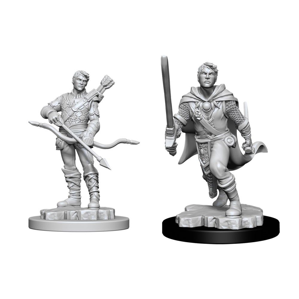 D&D Nolzurs Marvelous Unpainted Miniatures Male Human Ranger