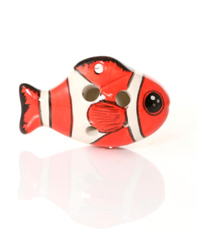 The Red Nemo Fish Ocarina