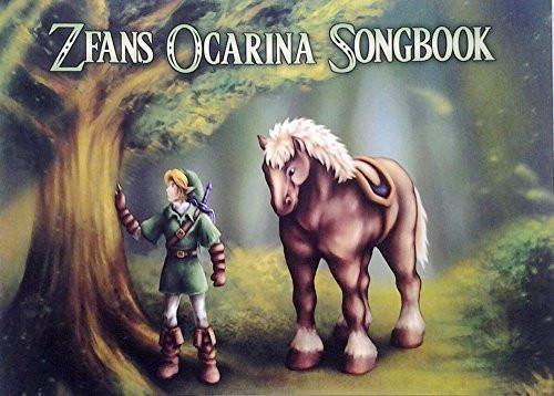 Legend of Zelda Standard Notation Edition Songbook for 12, 7, and 6 hole ocarinas with CD