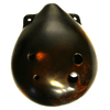 Seedpod Ocarina StrawFire Tenor G- only dark- to very dark available